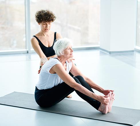 Yogalehrer50+ Ausbildung