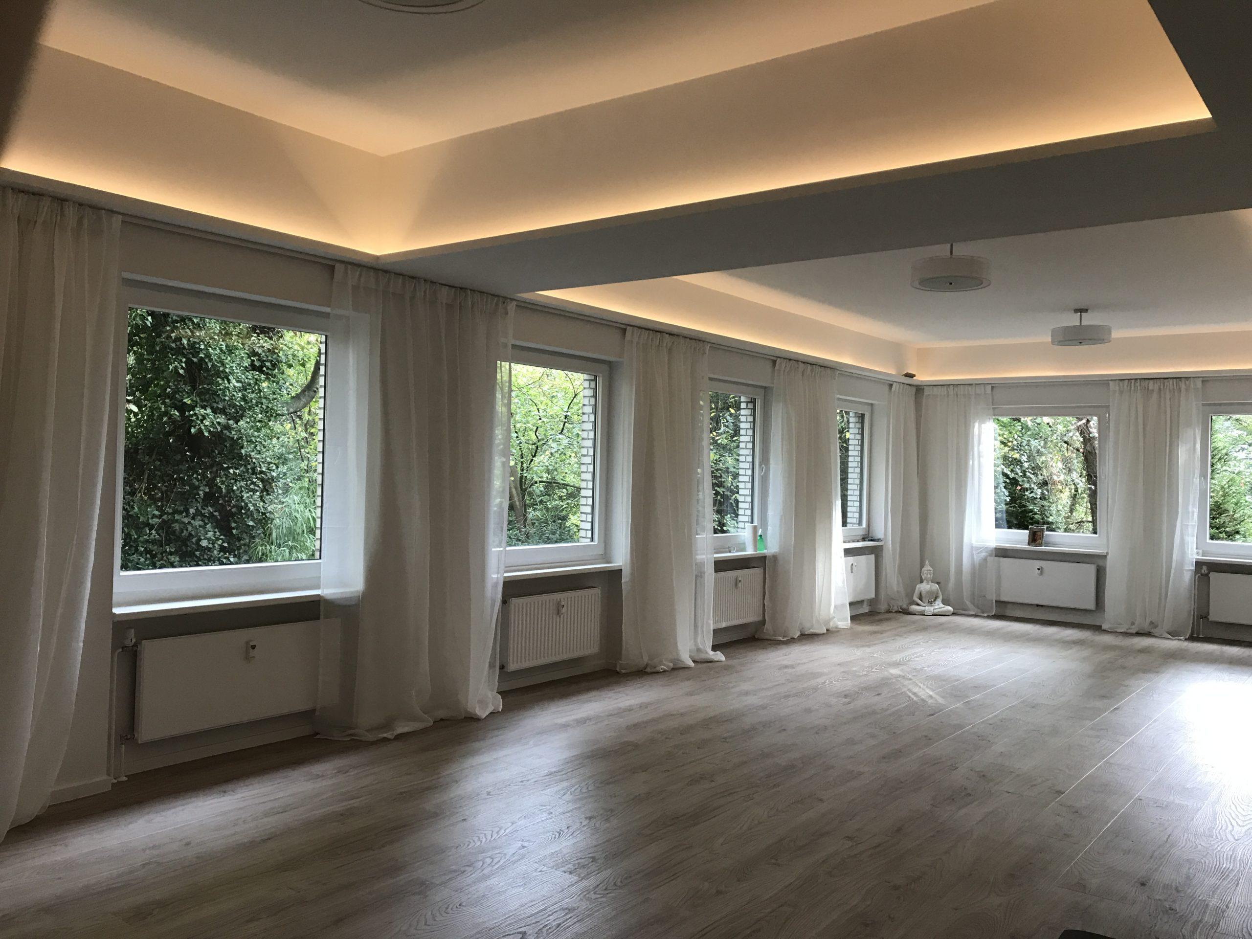 Unit Yoga Hamburg kleiner Kursraum
